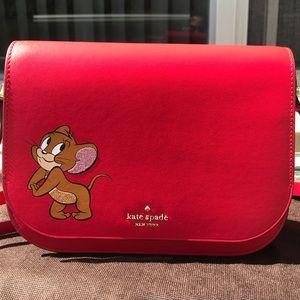 Brand New Kate Spade Tom & Jerry Crossbody Bag